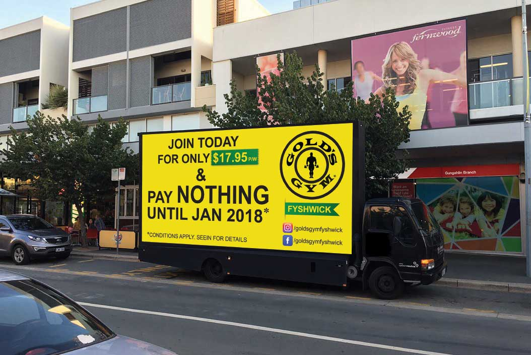 GOLD'S GYM CAMPAIGN